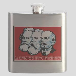 Marx, Engels, Lenin Flask