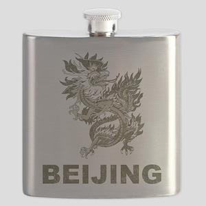 Vintage Dragon Beijing Flask