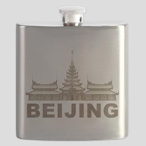 Vintage Beijing Temple Flask