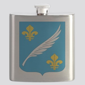 Cannes Coat Of Arms Flask
