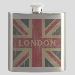 Vintage London Flask