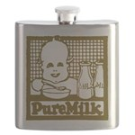 Vintage Pure Milk Flask