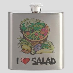 I Love Salad Flask