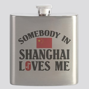 Somebody In Shanghai Flask