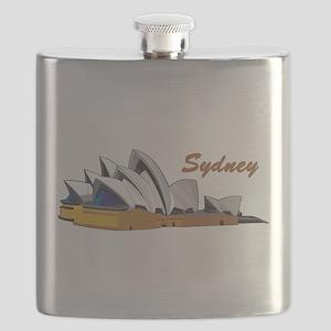 Sydney Opera House Flask