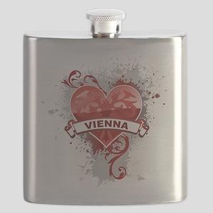 Heart Vienna Flask