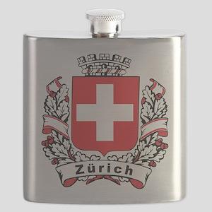 Stylish Zürich Crest Flask