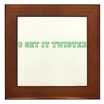 Get it Twisted Framed Tile