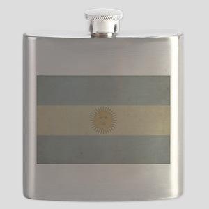 Vintage Argentina Flag Flask