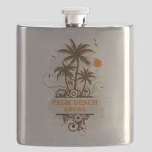 Palm Beach Aruba Flask