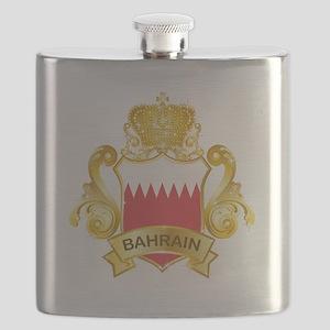 Gold Bahrain Flask