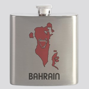 Map Of Bahrain Flask