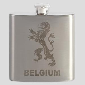 Vintage Belgium Flask