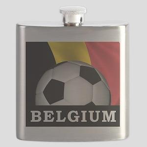 World Cup Belgium Flask
