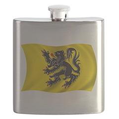 Wavy Flanders Flag Flask