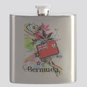 Flower Bermuda Flask