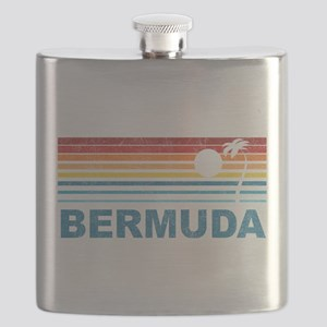 Palm Tree Bermuda Flask
