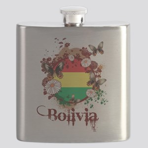 Butterfly Bolivia Flask