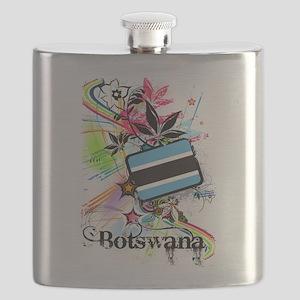Flower Botswana Flask