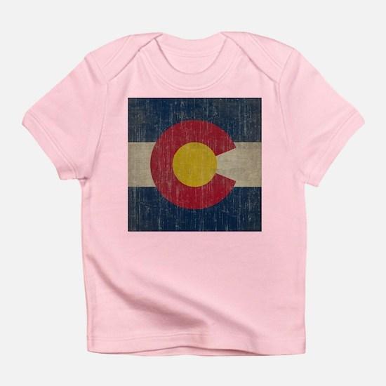Vintage Colorado Flag Infant T-Shirt