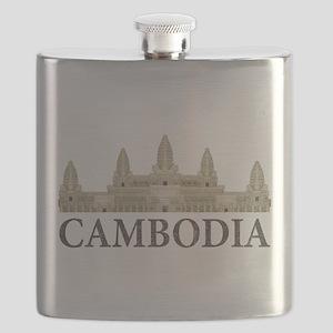 Cambodia Angkor Wat Flask