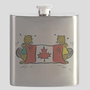 Beaver Canada Flask