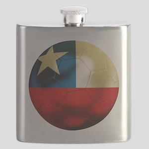 Chile Football Flask