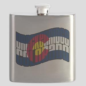 Breckenridge Colorado Flag Flask