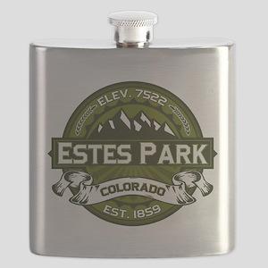 Estes Park Olive Flask