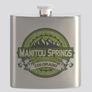 Manitou Shirt Logo Green Flask