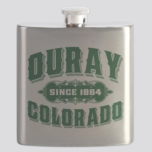 Ouray Old Style Green Flask