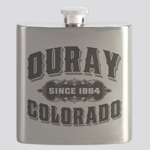 Ouray Old Style Black Flask