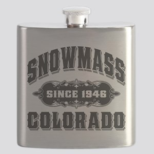 Snowmass Since 1946 Black Flask