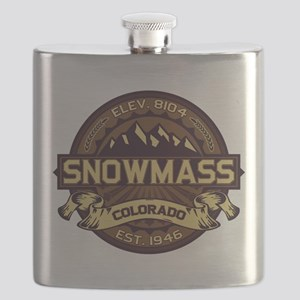 Snowmass Sepia Flask