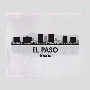 El Paso Skyline Throw Blanket