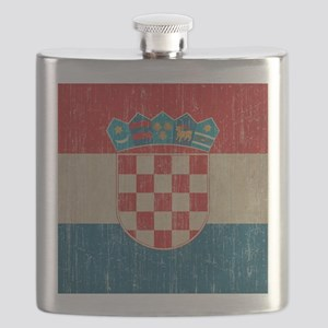 Vintage Croatia Flask