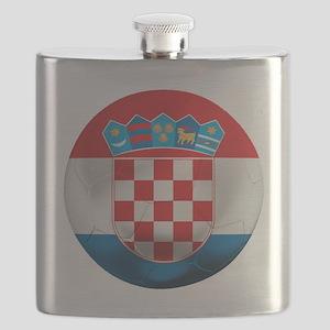 Croatia Football Flask