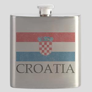 Vintage Croatia Flask