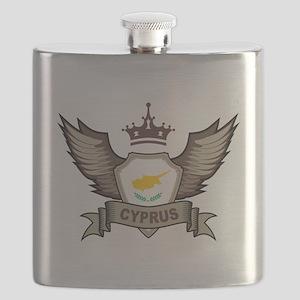 Cyprus Emblem Flask