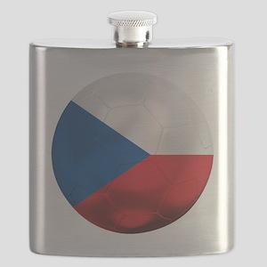 Czech Republic Football Flask