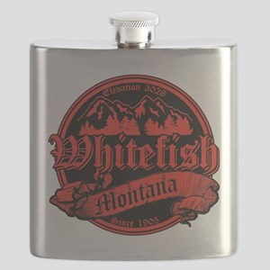 Whitefish Old Canterbury Red Flask