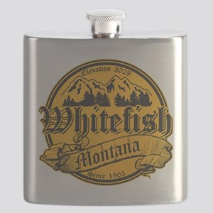 Whitefish Old Canterbury Invert Gold Flask