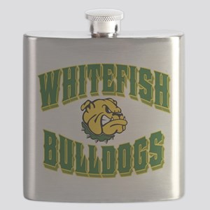 Whitefish Bulldogs Flask