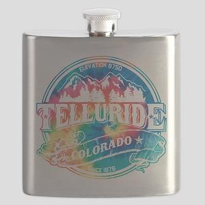 Telluride Old Circle 3 Black Flask