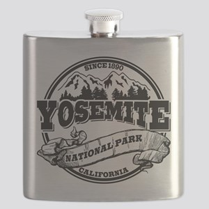 Yosemite Old Circle Black Flask