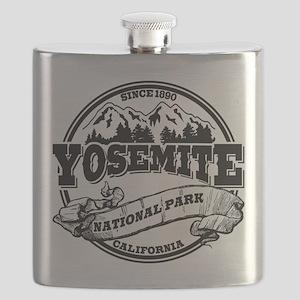 Yosemite Old Circle Black Flask
