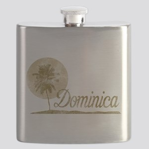 Palm Tree Dominica Flask