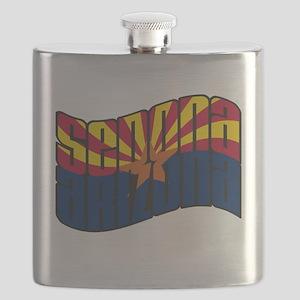 Sedona Arizona Flag Flask