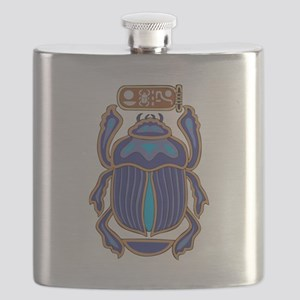 Egyptian Scarab Flask