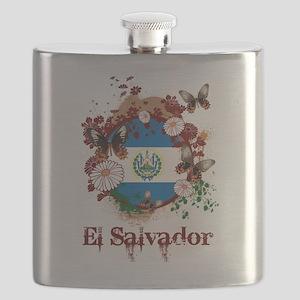 Butterfly El Salvador Flask